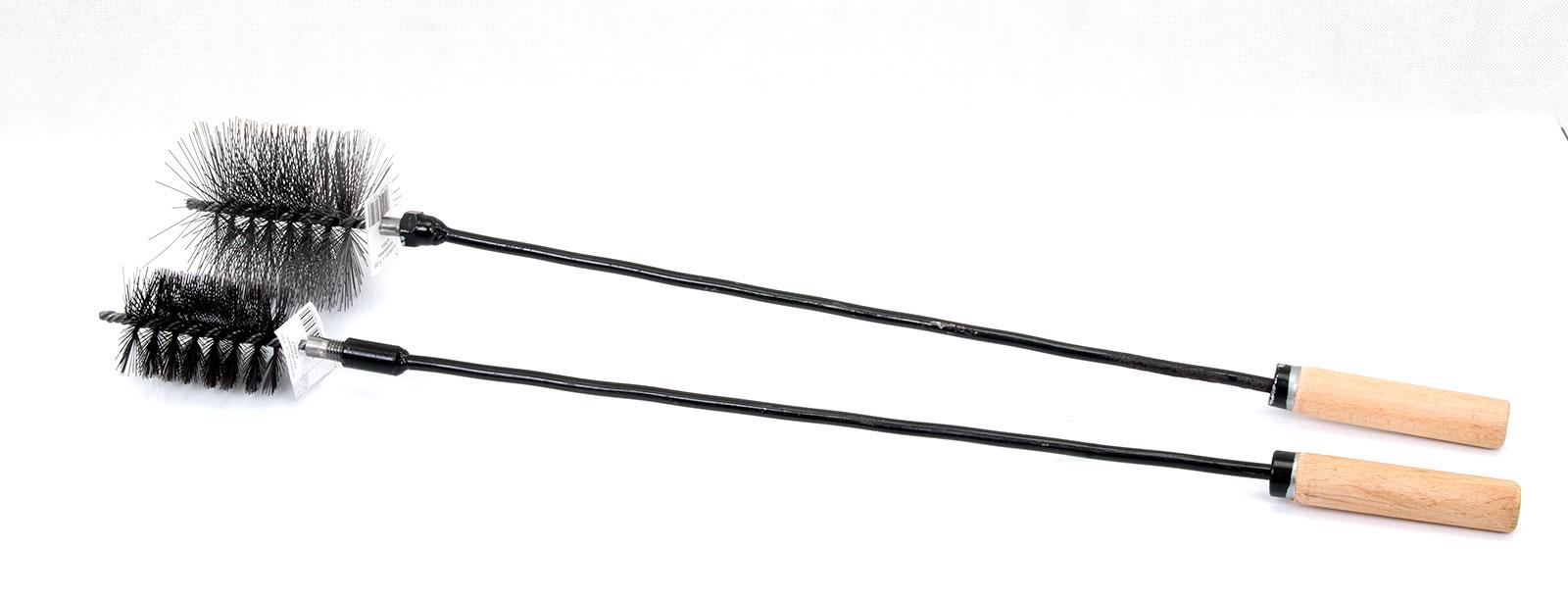 Kesselbürste Heizkesselbürste Ofenrohrbürste Putzstab 60cm-100cm Schubstangen