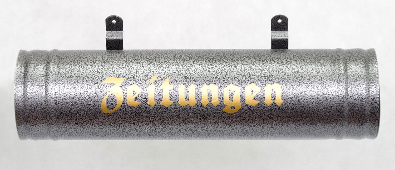 Zeitungsbox Neu Farbauswahl Wetter und UV-best/ändig Wei/ß Zeitungsrolle