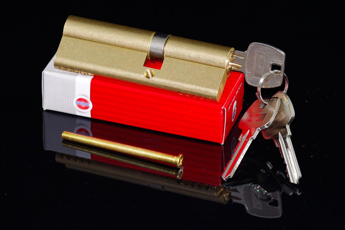 30 x 55mm Türschloss Schließzylinder Profilzylinder mit 3 Schlüsseln